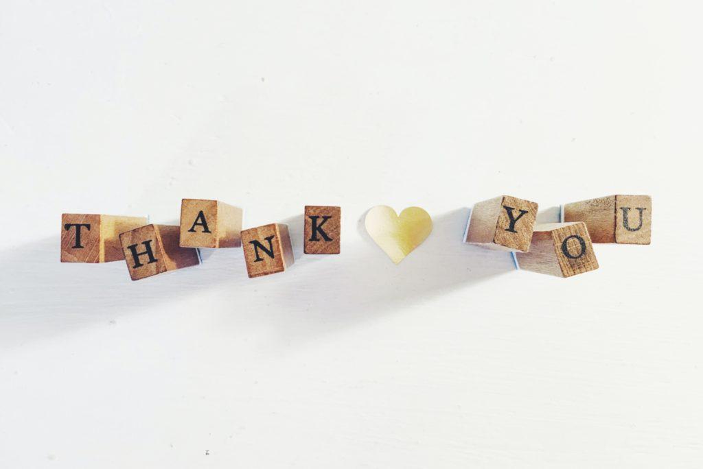 感謝の気持ちを言葉で表現