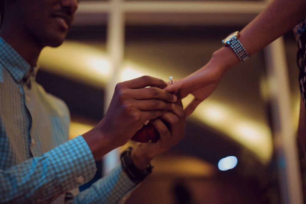 婚約の証明